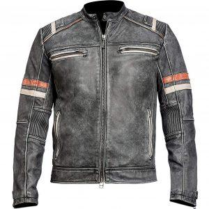 Men's Cafe Racer Jacket