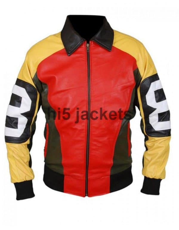 8 Ball Leather Jacket