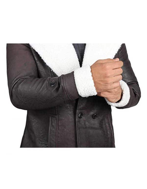 Superfly Leather Coat