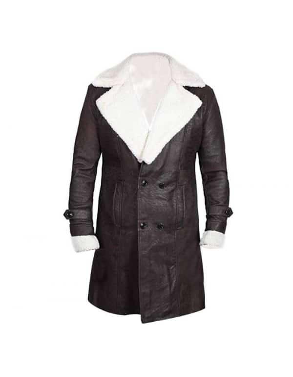 Superfly Trevor Jackson Leather Coat