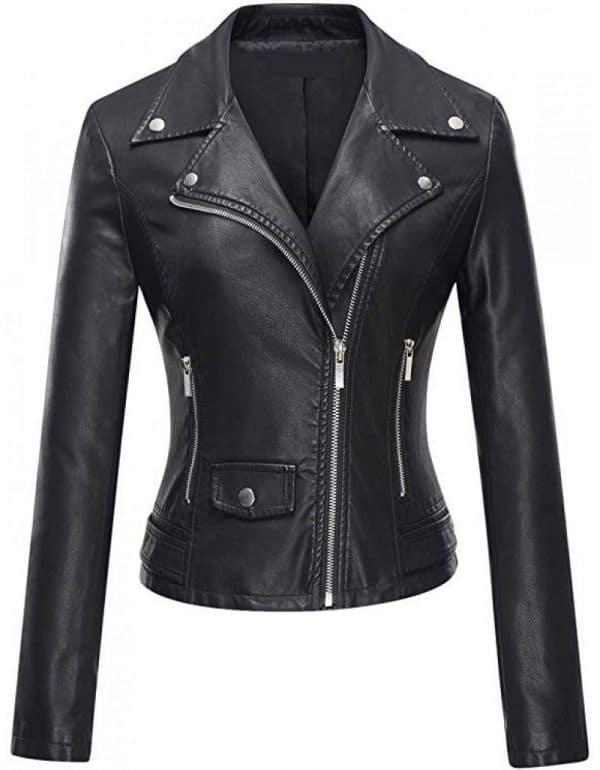 Women's Brando Leather Jacket