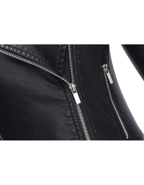 Ladies Brando Jacket Zipper