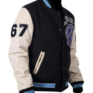Detroit Beverly Lions Wool Jacket