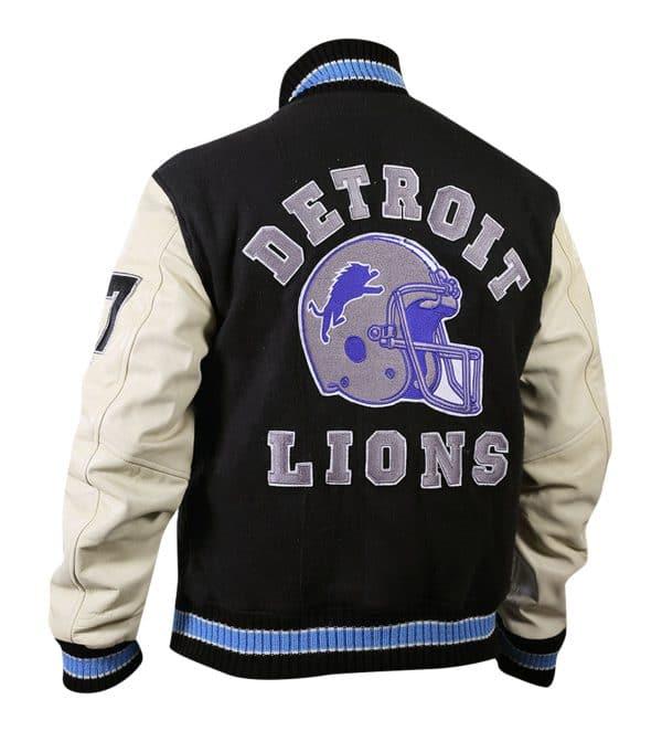 Axel Lions Bomber Varsity Wool Jacket