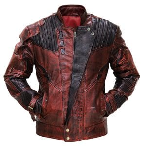 Starlord Leather Costume Jacket for Men