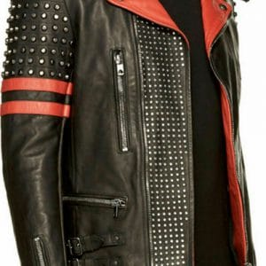 Men's Brando Studded Leather Jacket