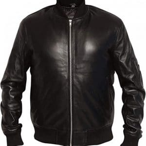 MA1 Aviator Pilot Leather Jacket