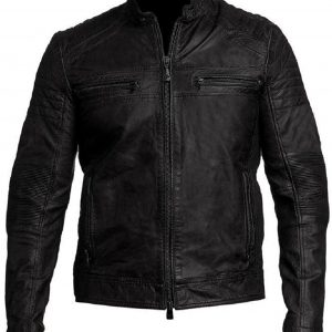 Buy Cafe Racer Leather Jacket for Men