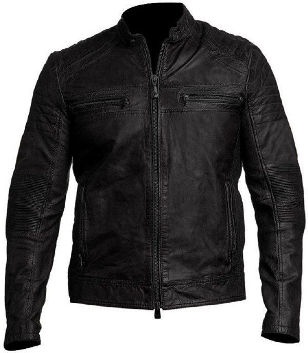 Buy Cafe Racer Leather Jacket for Men