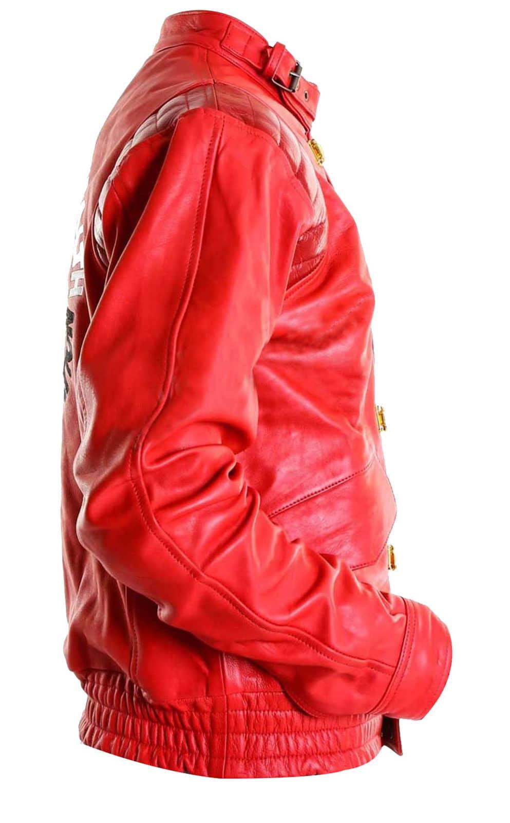 Akira Kaneda Leather Jacket Red Akira Jacket Hi5jackets