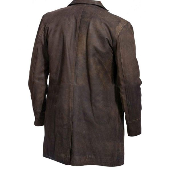 9th Doctor Leather Coat