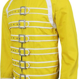 Freddie Mercury Yellow Cotton Jacket