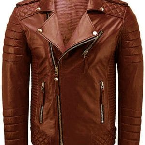 Brown Brando Leather Jacket