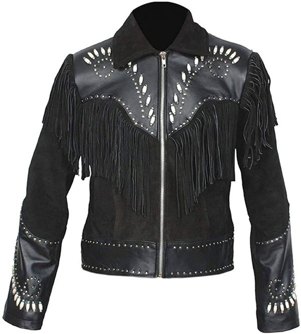 Cowboy Suede Leather Jacket
