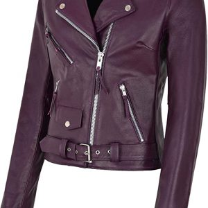 Women's Brando Leather Jacket
