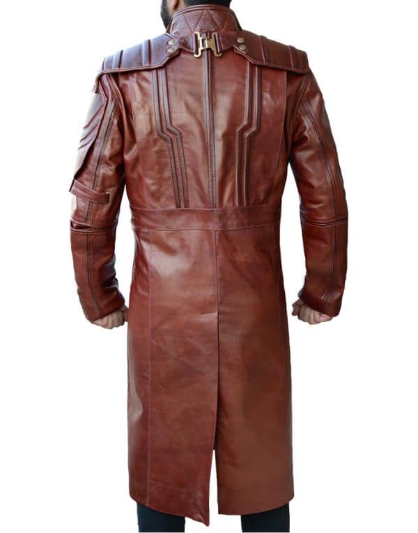 Peter Quill Leather Coat