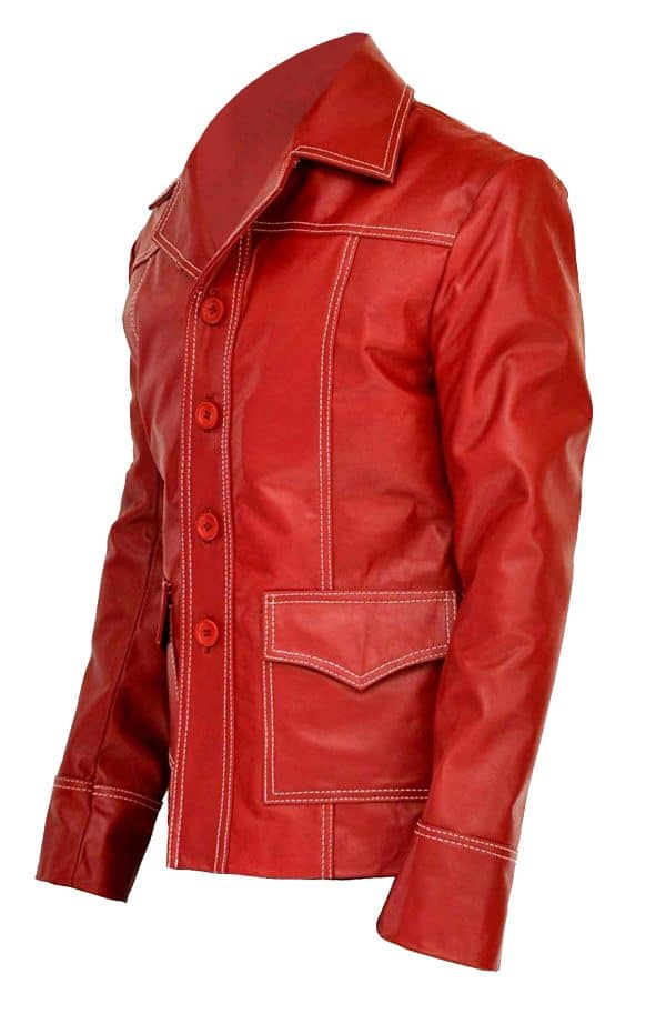 Fight Club Leather Jacket
