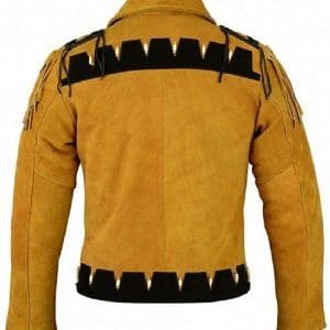 Cowboy Fringe Leather Jacket
