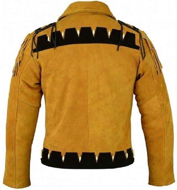 Cowboy Fringe Leather Jacket
